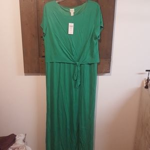 Chico's Pop Over Paige Maxi Dress